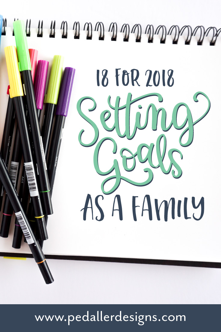 Make some meaningful memories with your kids and redefine family fun by making up your own family list of 18 for 2018.