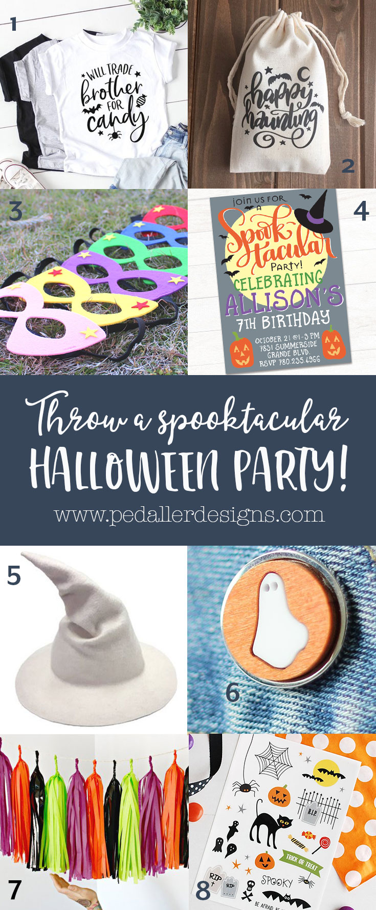 8 awesome ideas for the spookiest halloween party on the block!