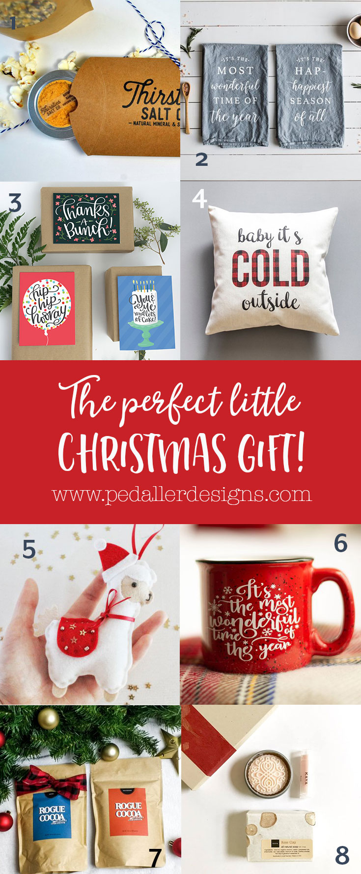 Find the perfect christmas gift for all those people (the postman, the teacher, your neighbour, a colleague) in this practical christmas gift guide for anyone.
