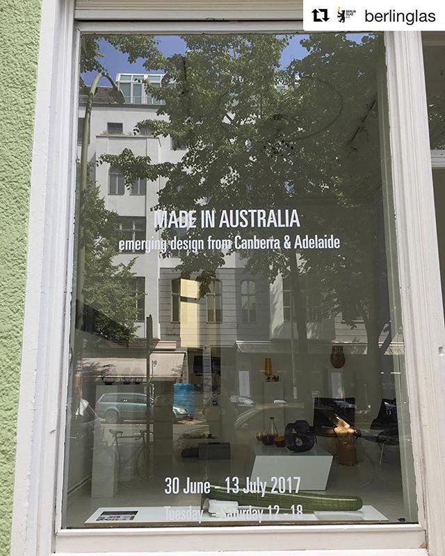 Opening @benhadjdjilaligalerie tomorrow night! @berlinglas #australiaingermany #australianembassyberlin #australianow2017 #madeinaustralia