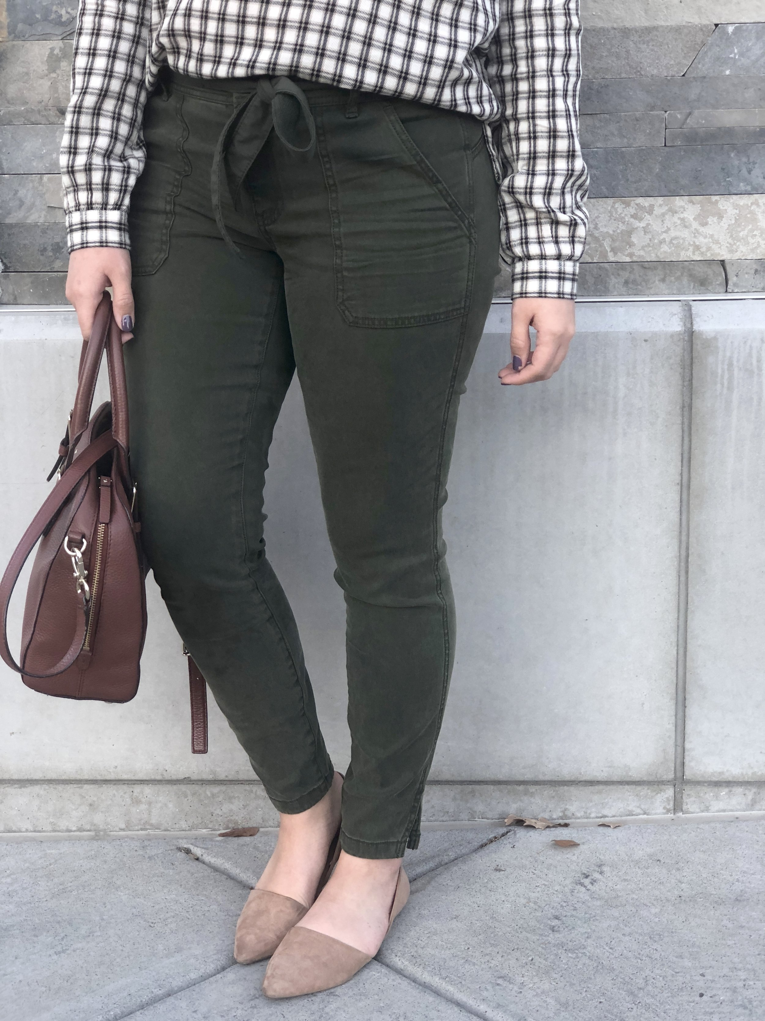 The most flattering chinos!They would be great for a business casual work setting as well!