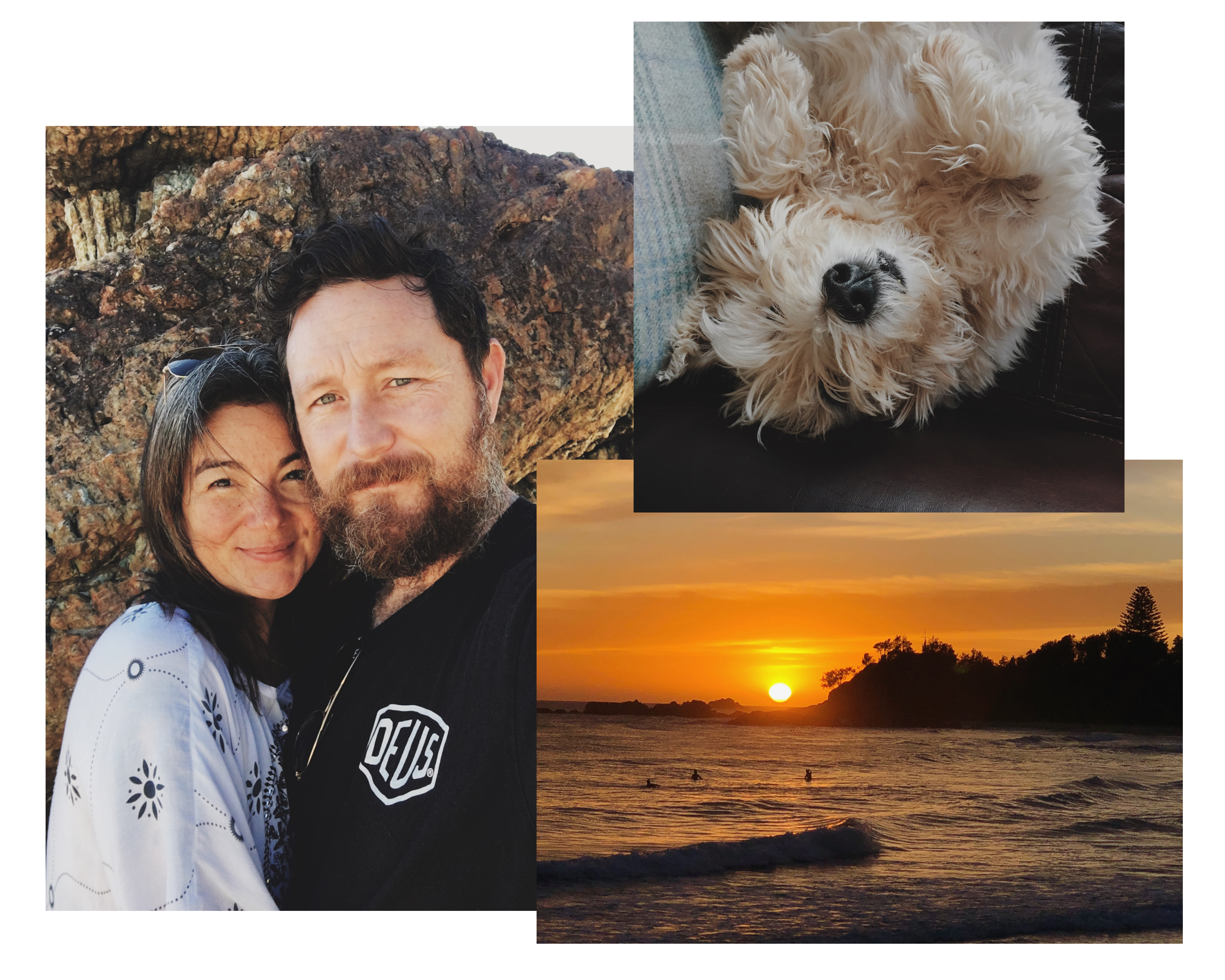 I live by the sea along the mid-North coast of New South Wales in Australia, with my ineffable husband and very demanding geriatric West Highland terrier where I'm lucky enough to watch the sun rise above the ocean most mornings.