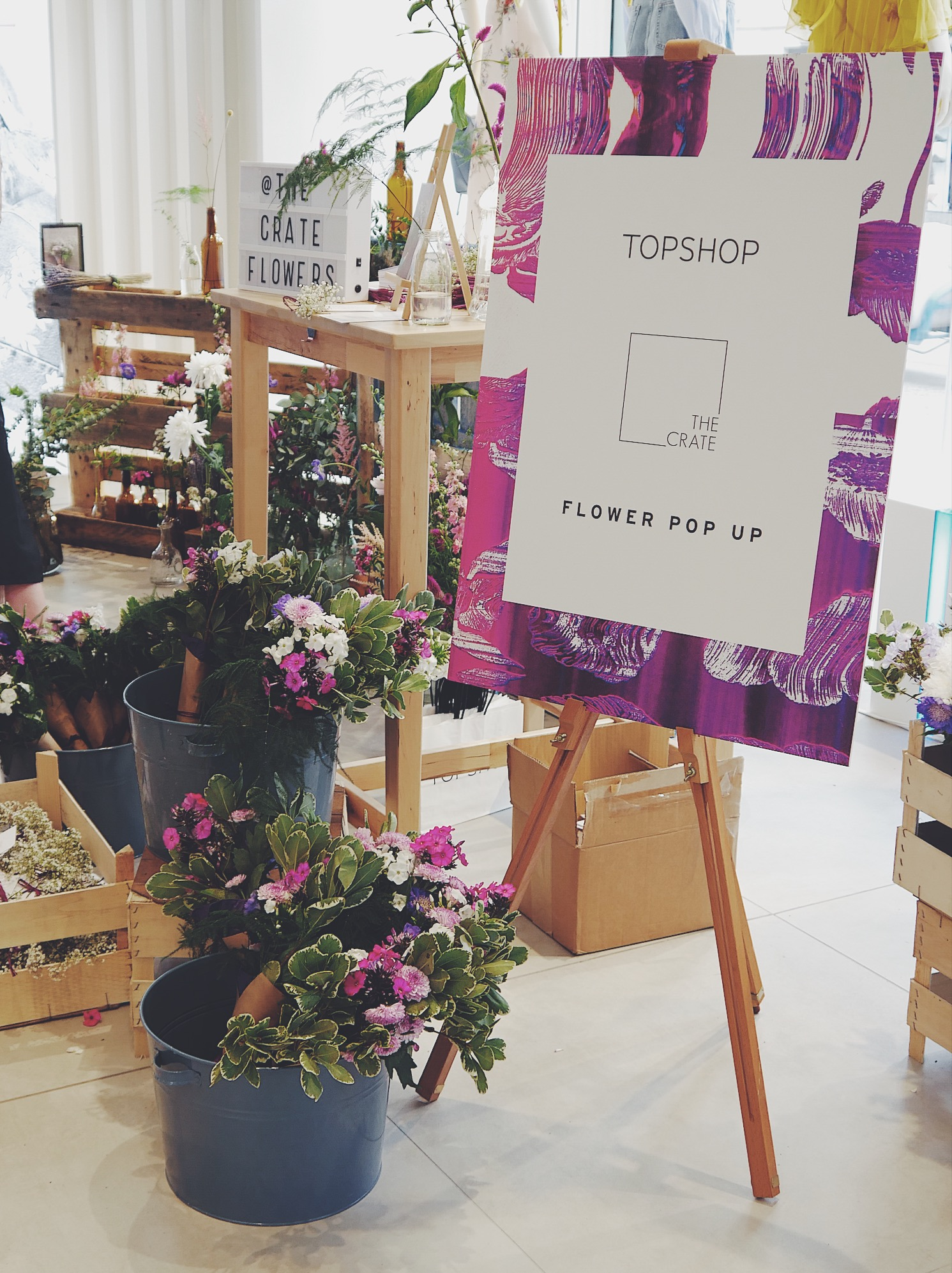 TOPSHOP X The Crate