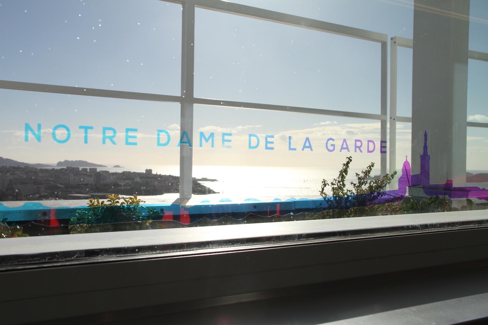 Création d'une table d'orientation disruptive au 30 ème étage de la tour la Marseillaise