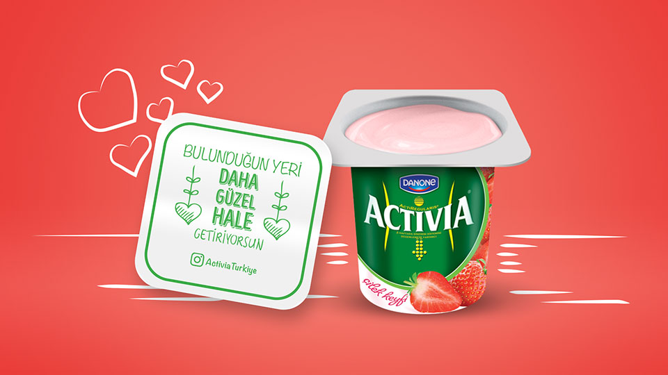Activia - Snackable Compliments
