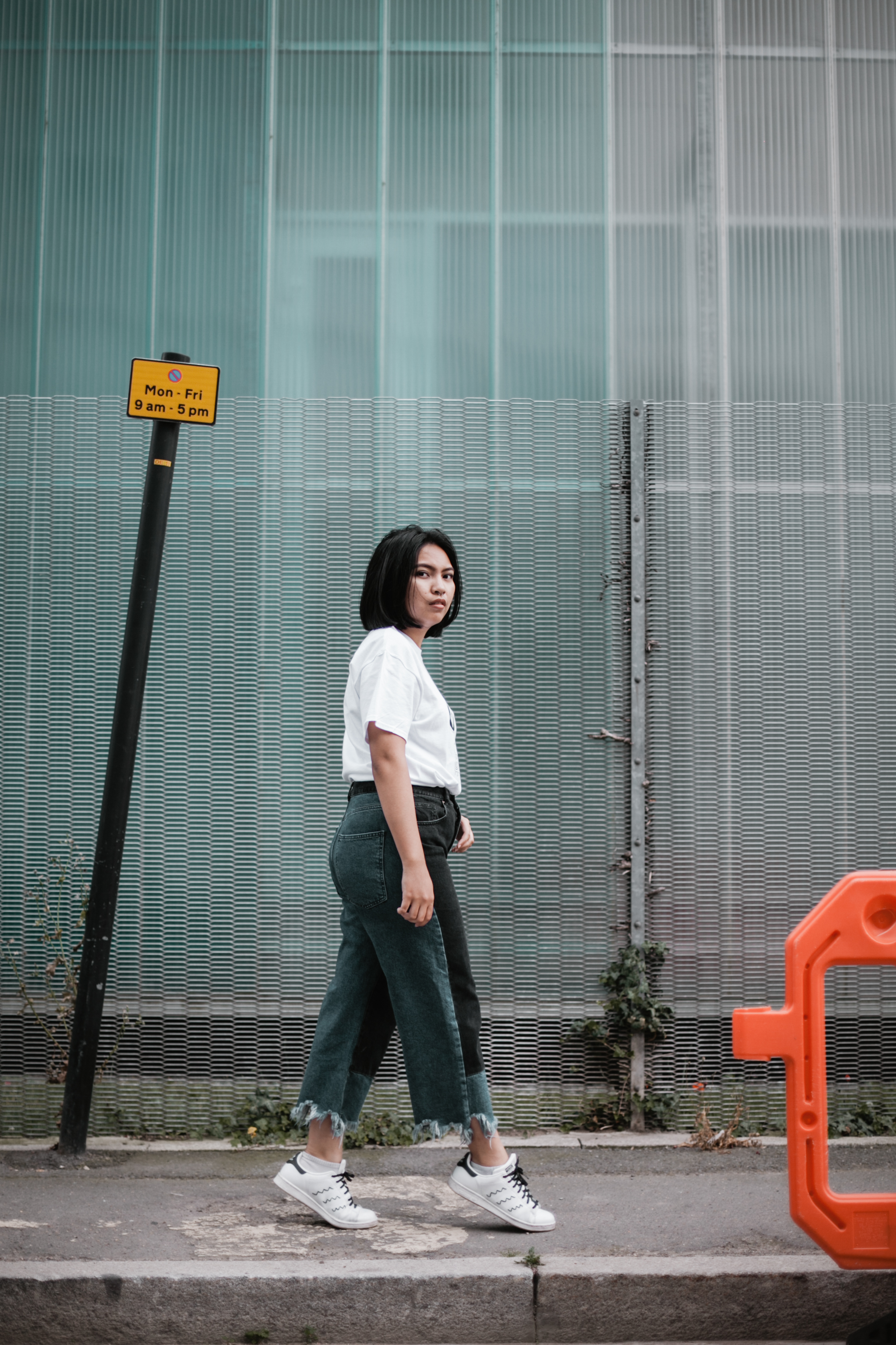 What I wore... - Good Girl Gang T-ShirtASOS Deconstructed JeansAdidas Stan Smith