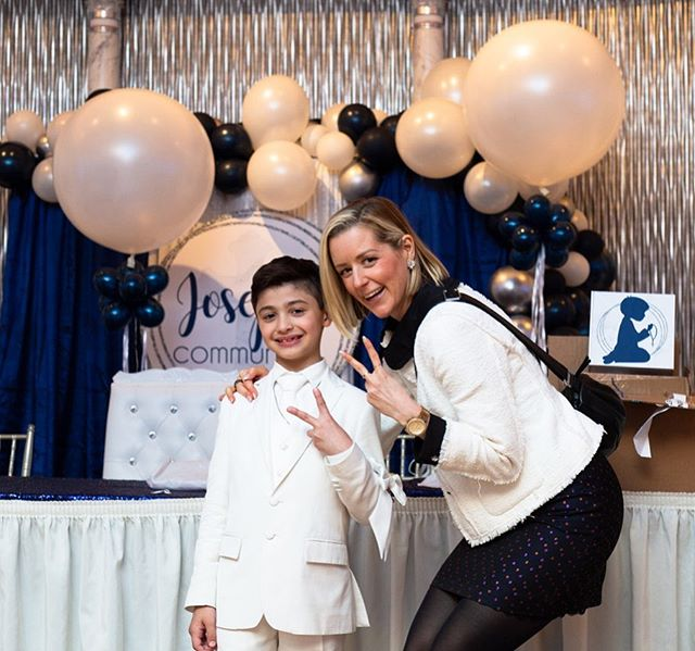 "Woke up this morning to the cutest pic from Joseph's mom from his first communion which I spun a few weeks ago. Joseph was awesome and the best moment was when he sang #katyperry ""Firework"" for everyone! This made my day seeing Joseph and his family so happy! Thanks for having me! #kidsrock"