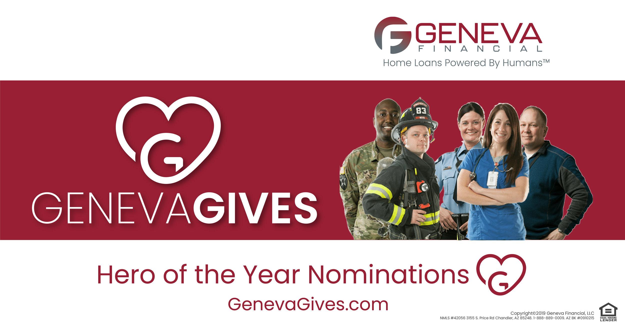 Geneva Gives Hero of the Year