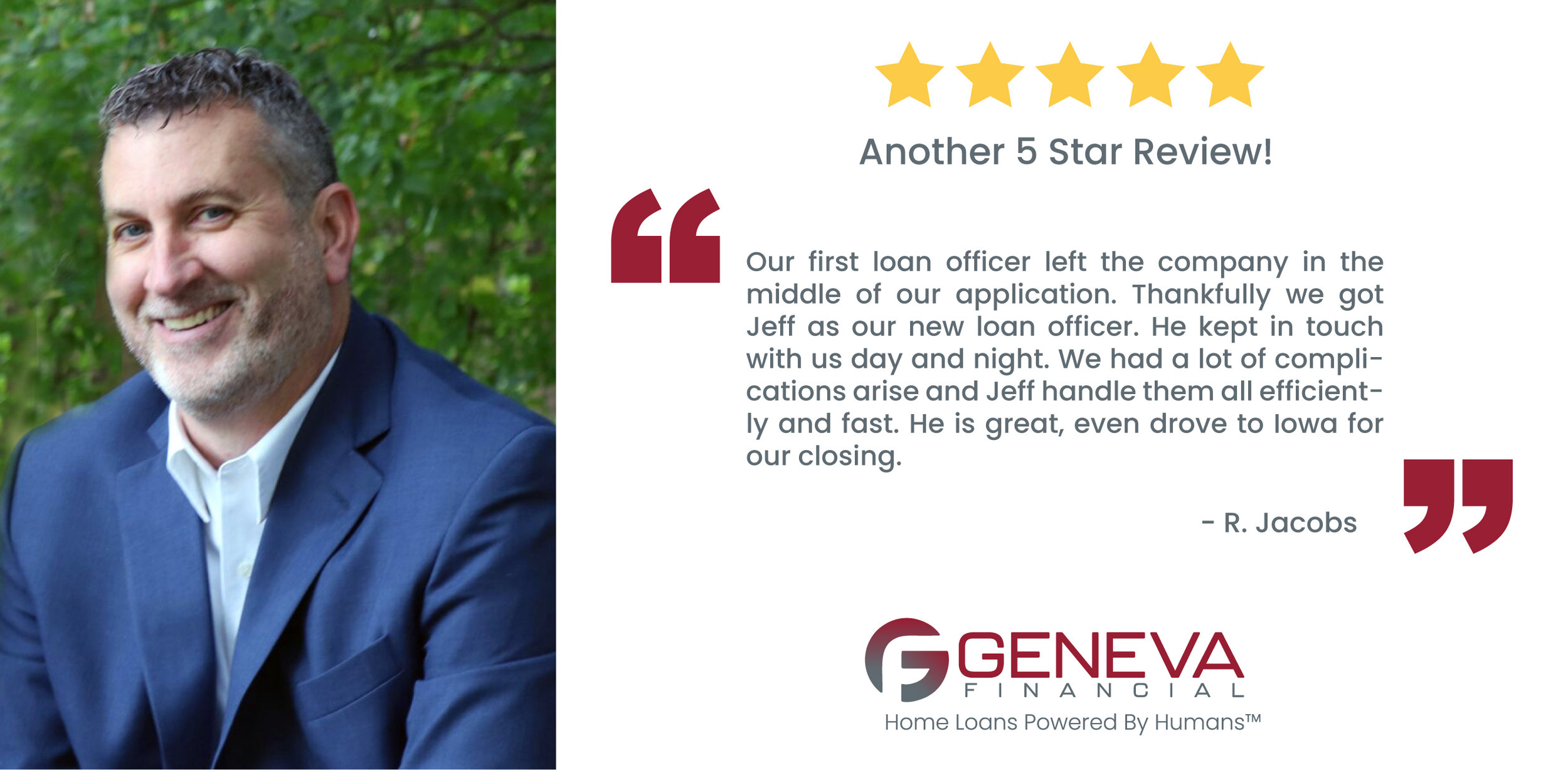 Jeff Winship Branch Manager/ Loan Officer serving the states of Minnesota, California, Iowa, Texas, and WIsconsin
