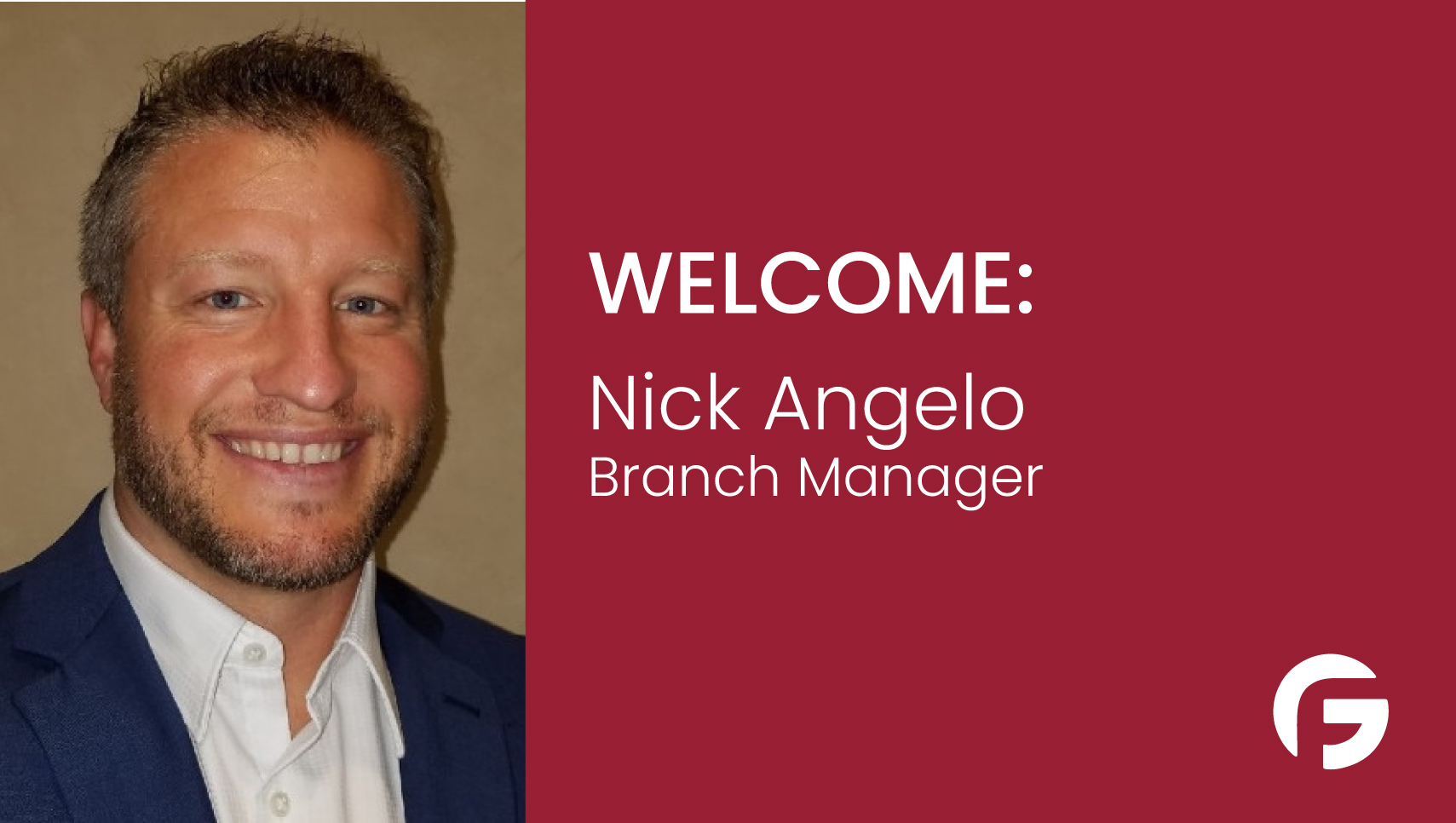Nick Angelo Branch Manager serving Ohio