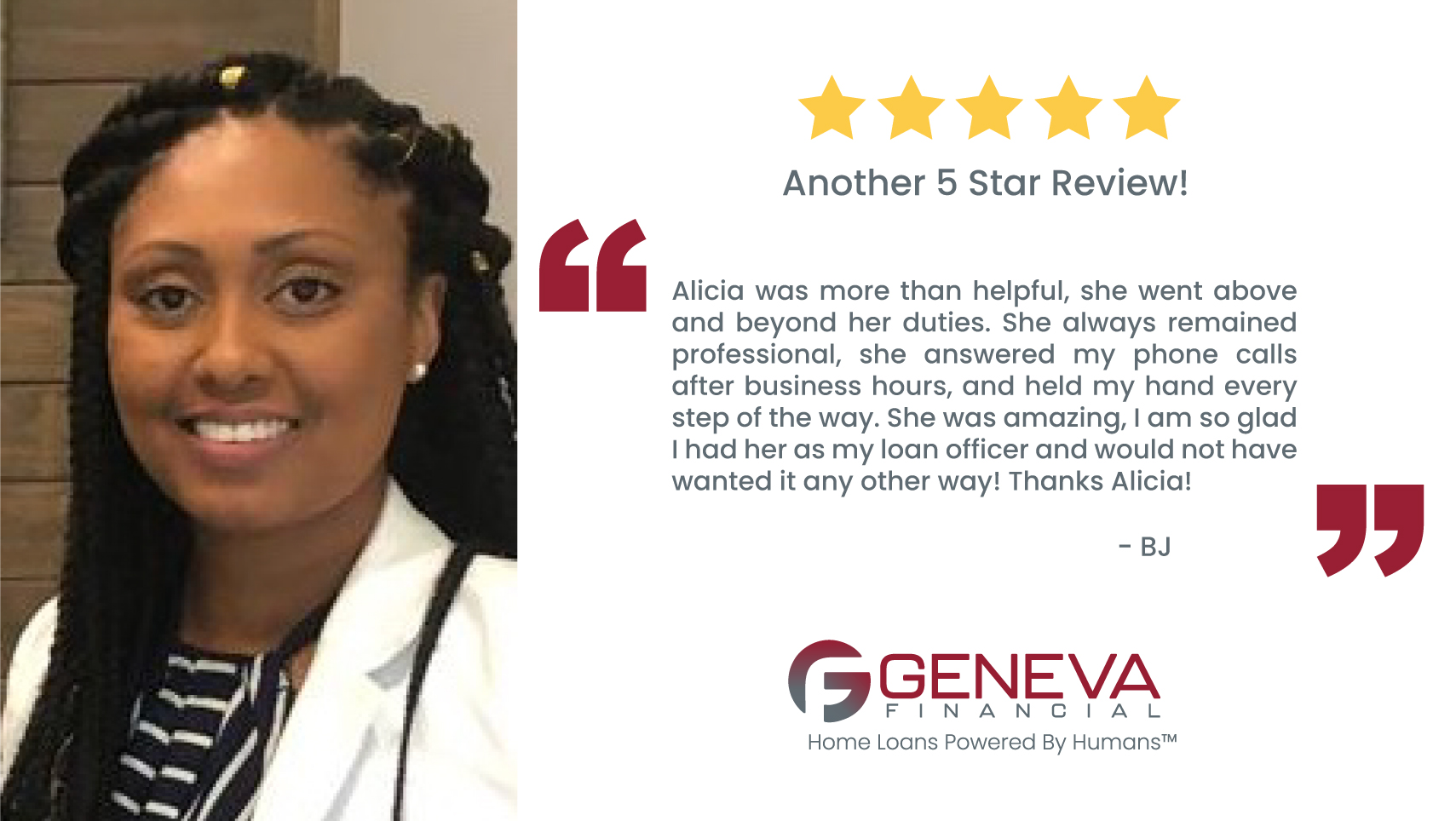 Alicia Bradford, Loan Originator serving the state of Georgia