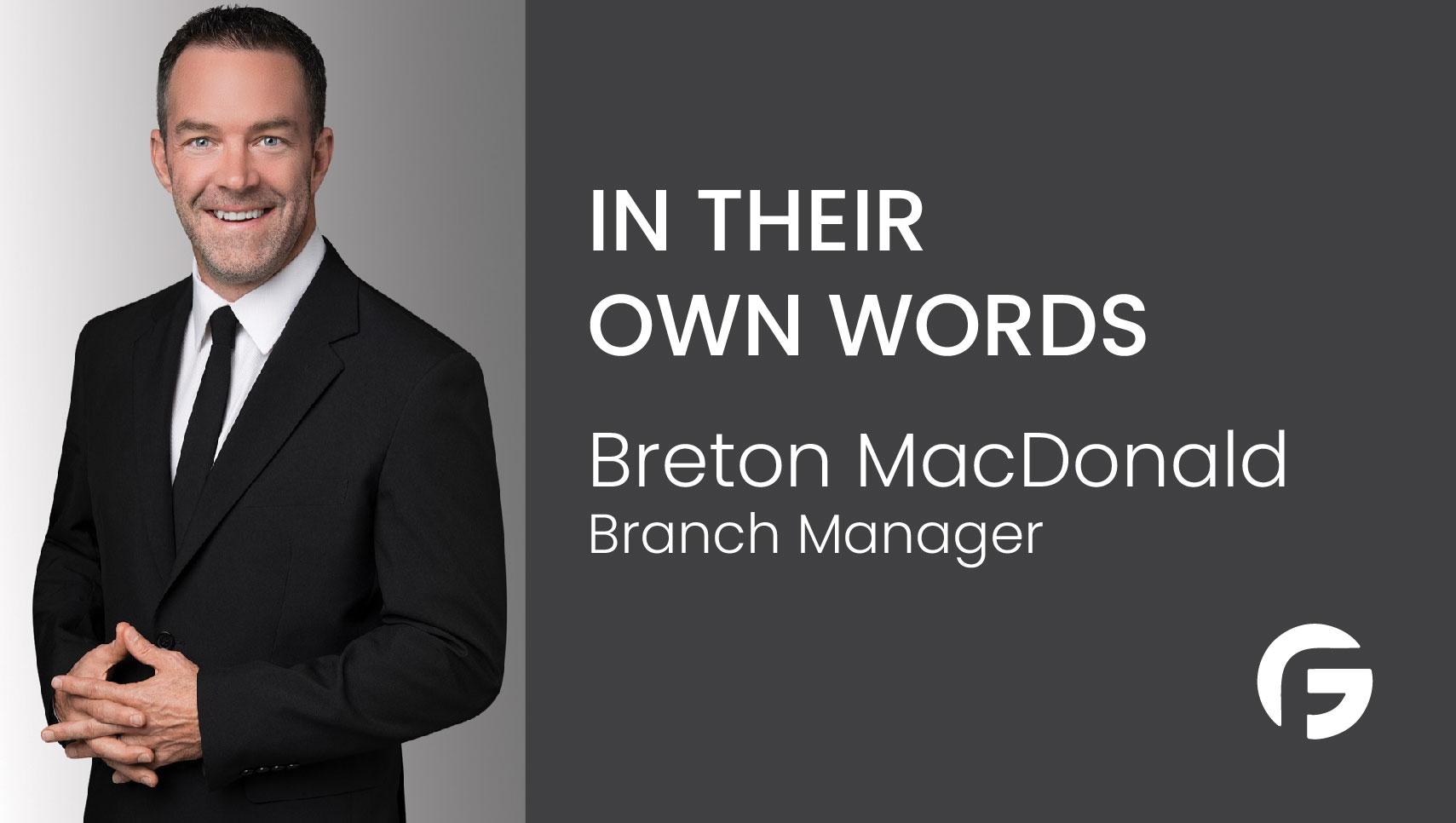 Breton MacDonald, Geneva Financial Branch Manager in California, licensed in multiple states.