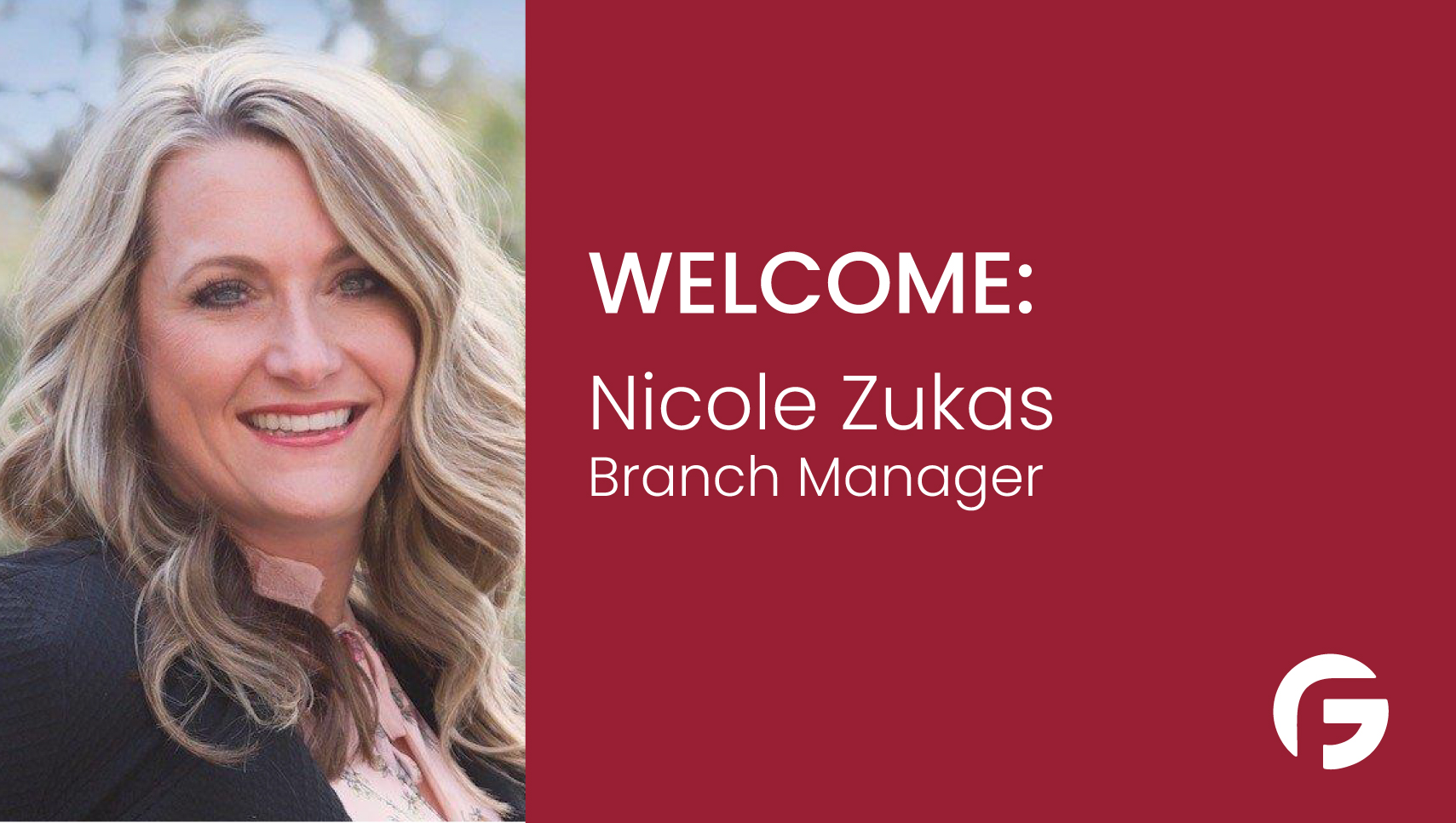 Nicole Zukas, Branch Manager Serving Oregon and Washington