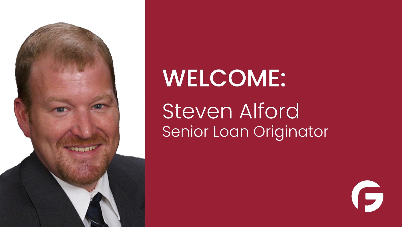 Steven Alford, Senior Loan Officer serving Texas