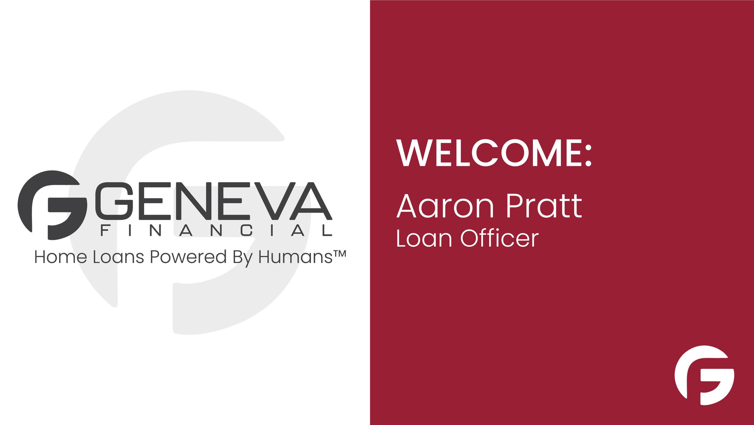 Aaron Pratt Loan Officer serving Oregon and Washington