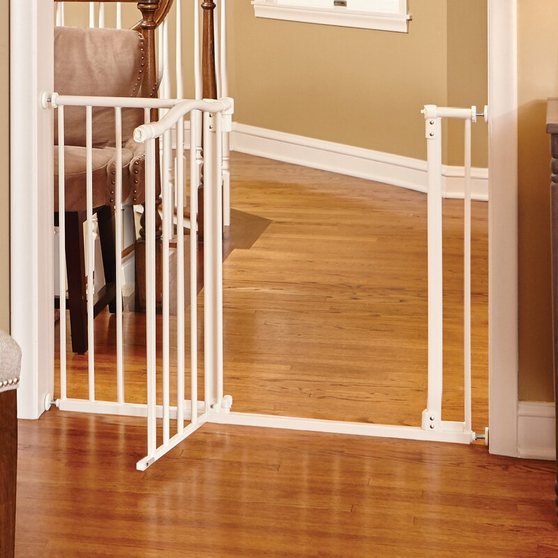 - Be sure to measure the passage space you are needing to block to ensure you are ordering the right size gate.