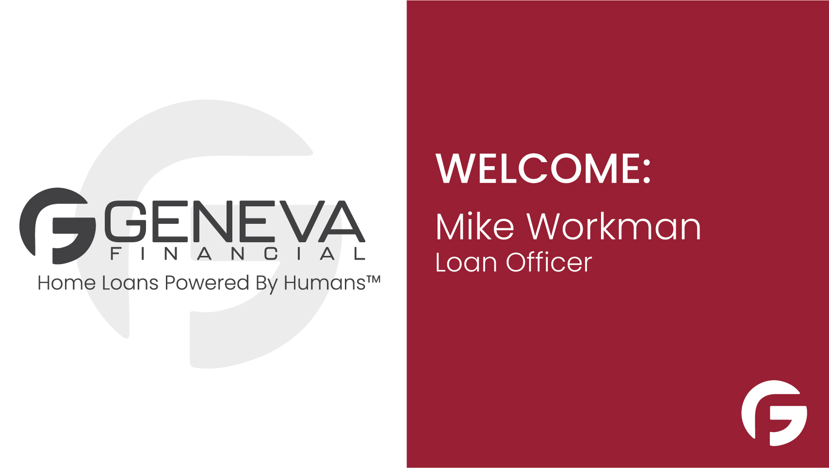 Mike Workman, Loan Officer, serving the state of Washington