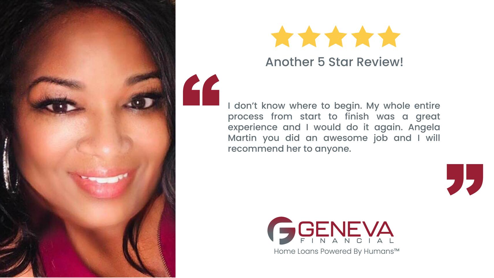 Angela Martin, Loan Officer Houston, Texas