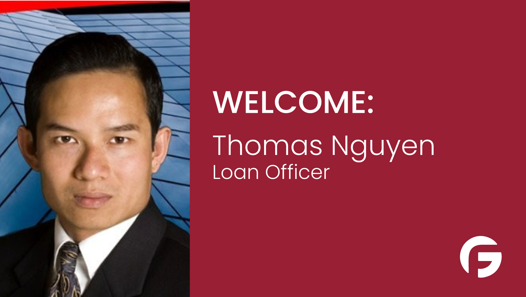Thomas Nguyen, Loan Officer, serving the state of Minnesota
