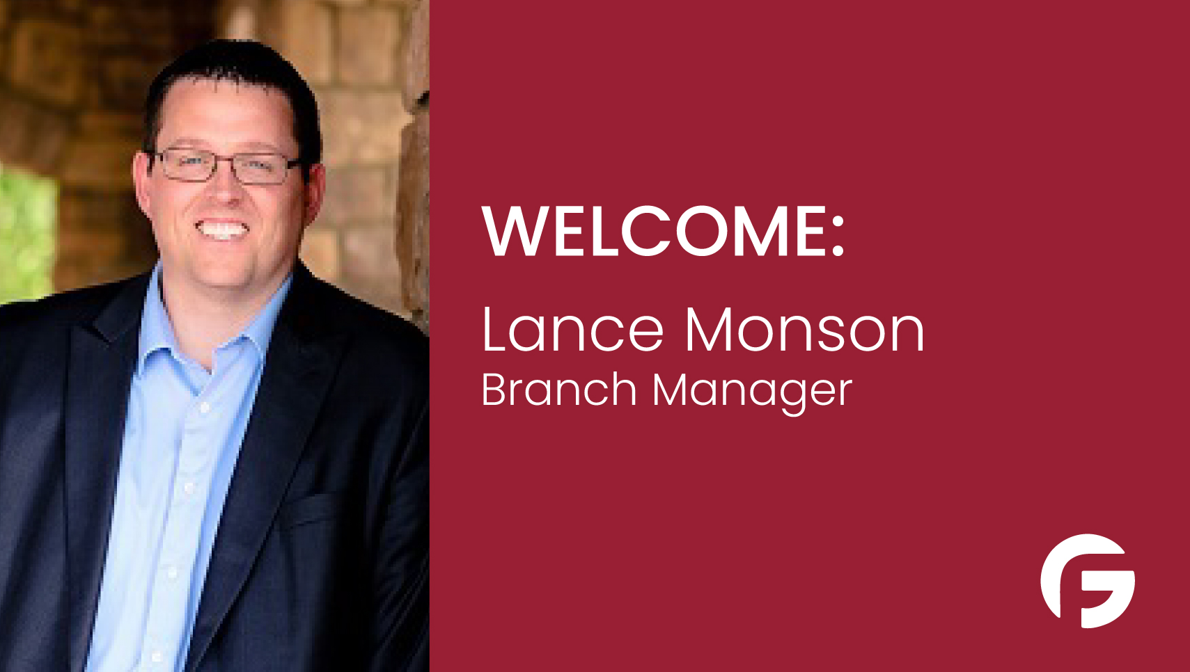 Lance Monson, Branch Manager, serving the state of Utah