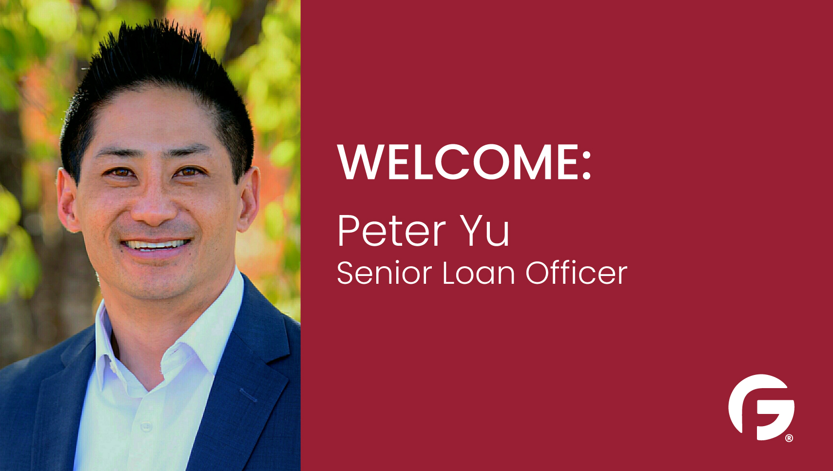 Peter Yu, Loan Officer, serving the state of Colorado