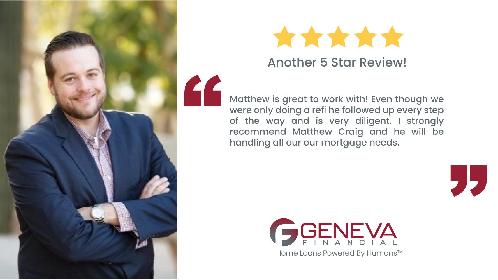 Matthew Craig, Loan Officer in Gilbert Arizona