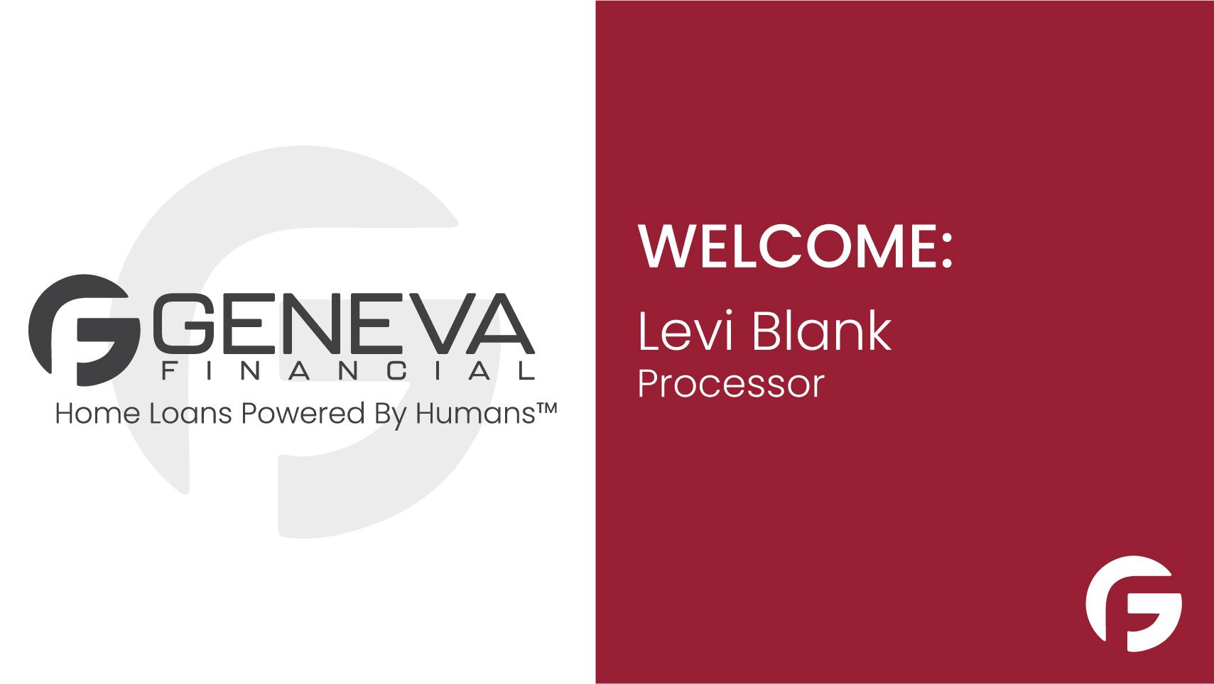 Levi Blank, Loan Processor in Chandler, AZ