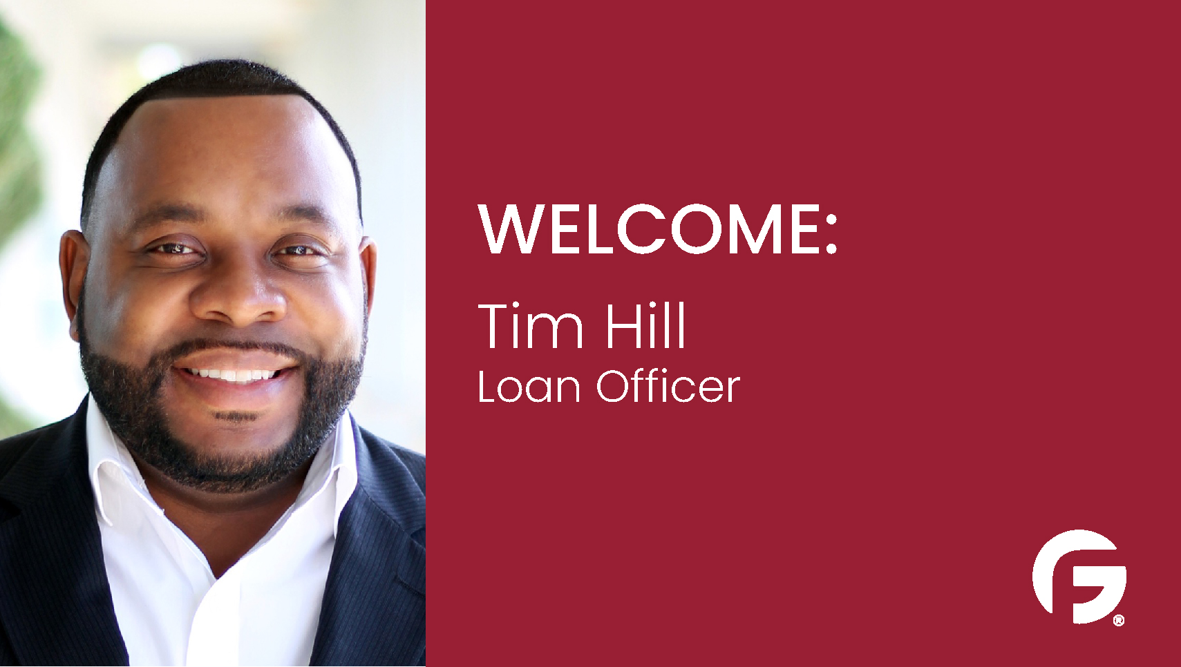 Tim Hill, Loan Officer, serving the state of Texas