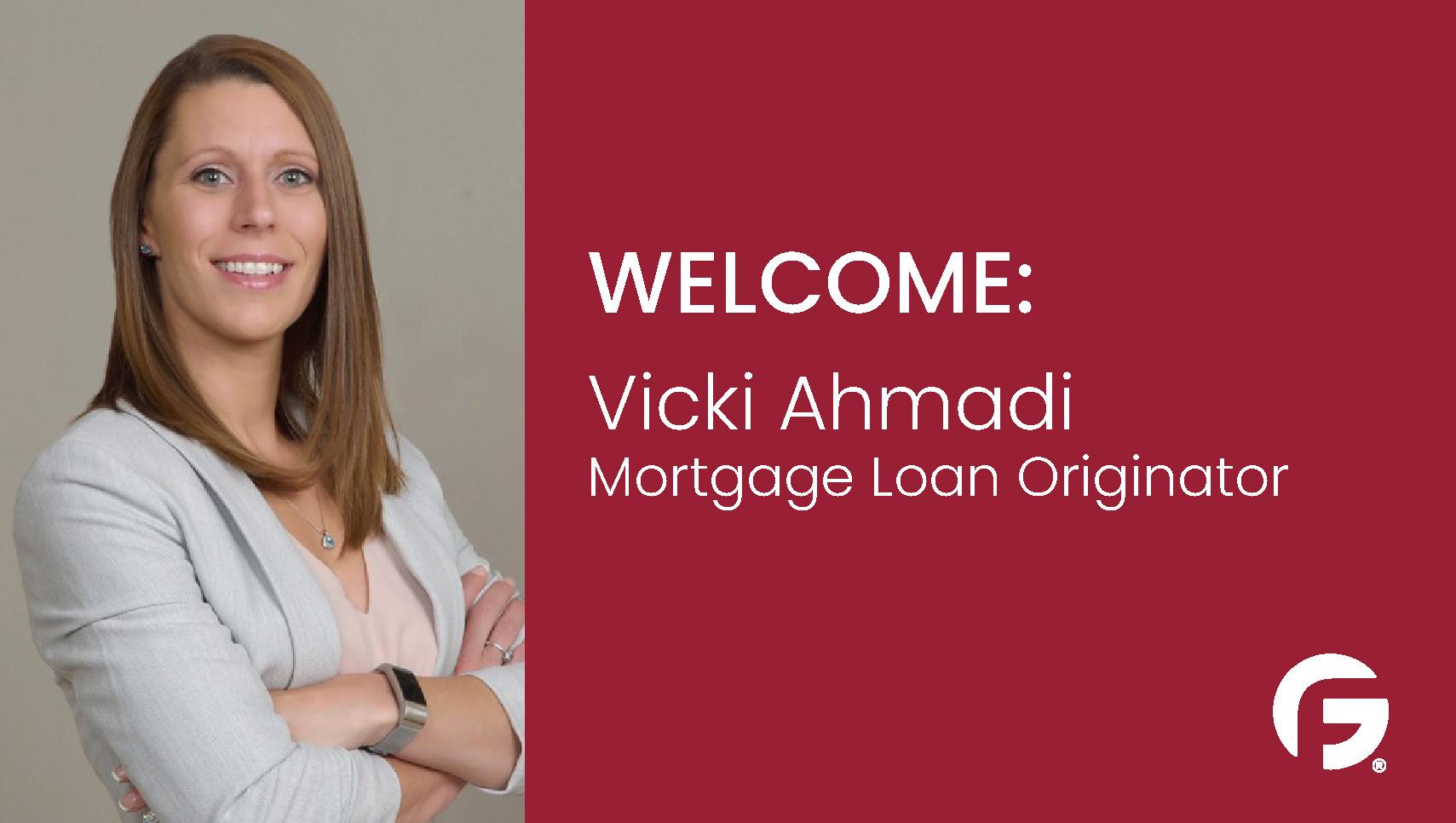 Vicki Ahmadi, Loan Officer, serving the state of Oregon
