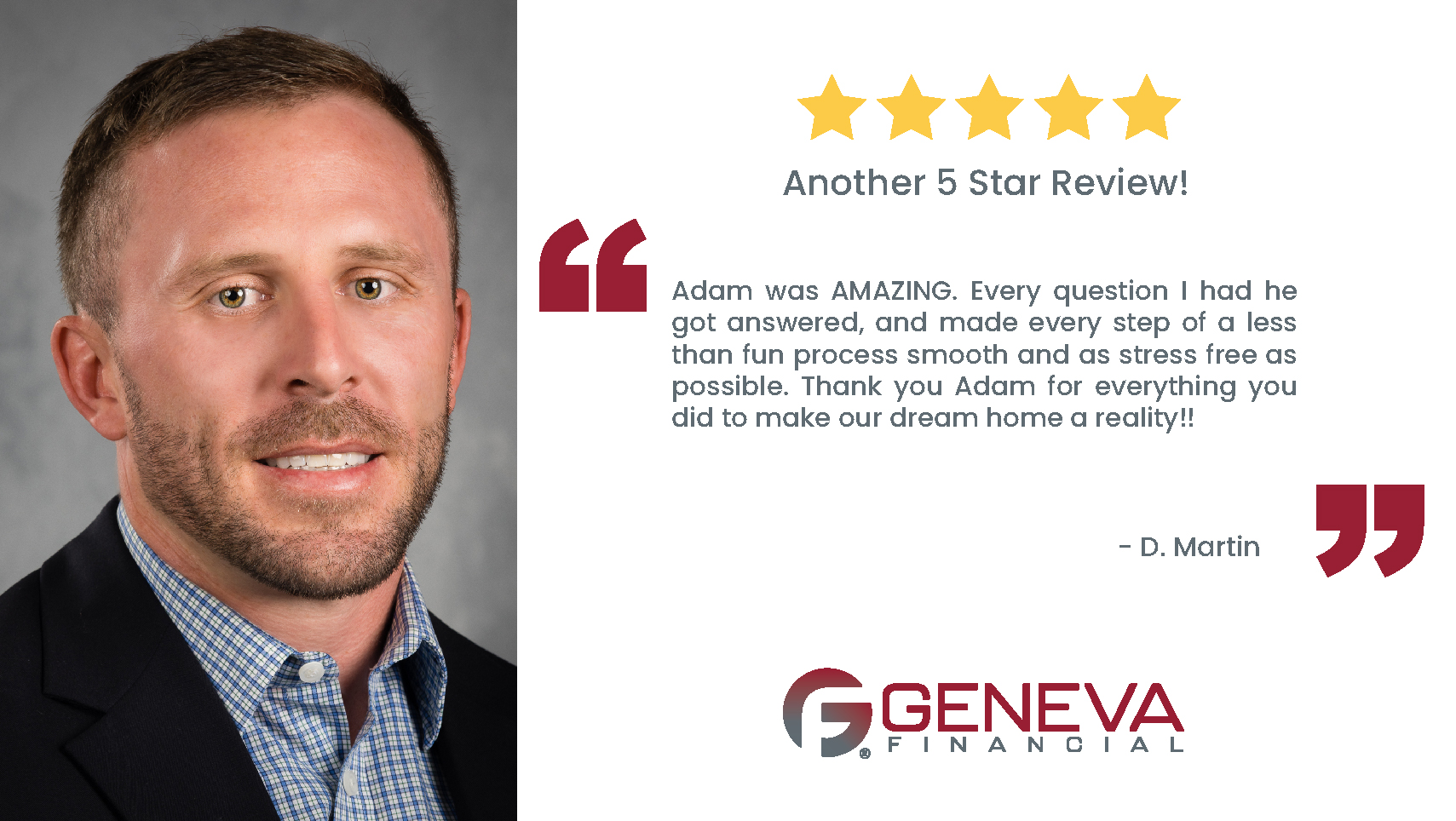 Adam Gjerulff, Branch Manager, serving the states of Virginia, Florida, and Maryland