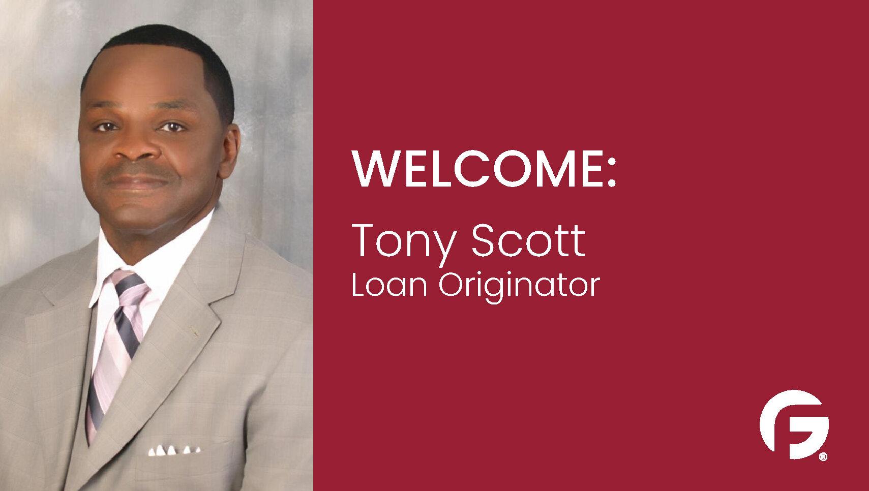 Tony Scott Loan Originator