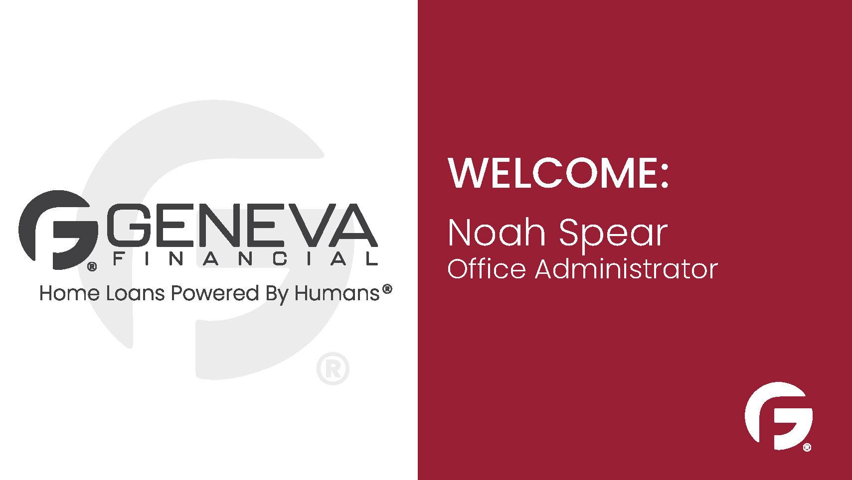 Noah Spear, Office Administrator