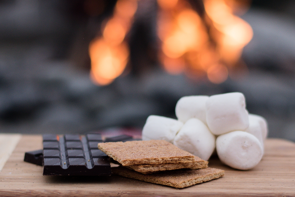 smores party fire pit party ideas