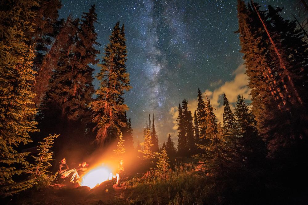Star Gazing Fire Pit Party Idea