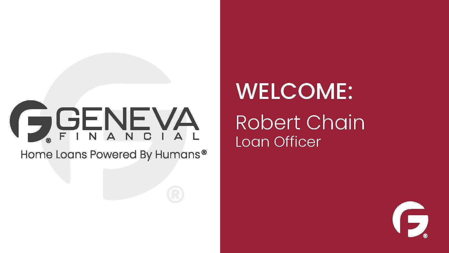 Robert Chain, Loan Officer, Connecticut