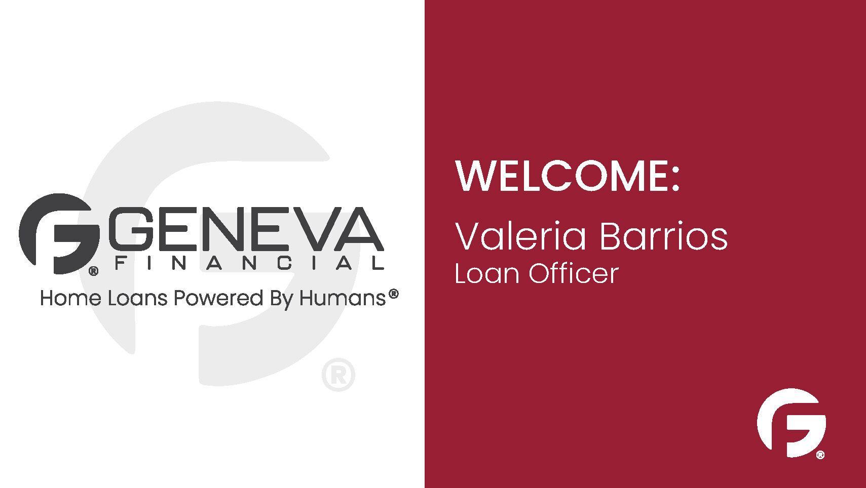 Valeria Barrios, Loan Officer, Texas