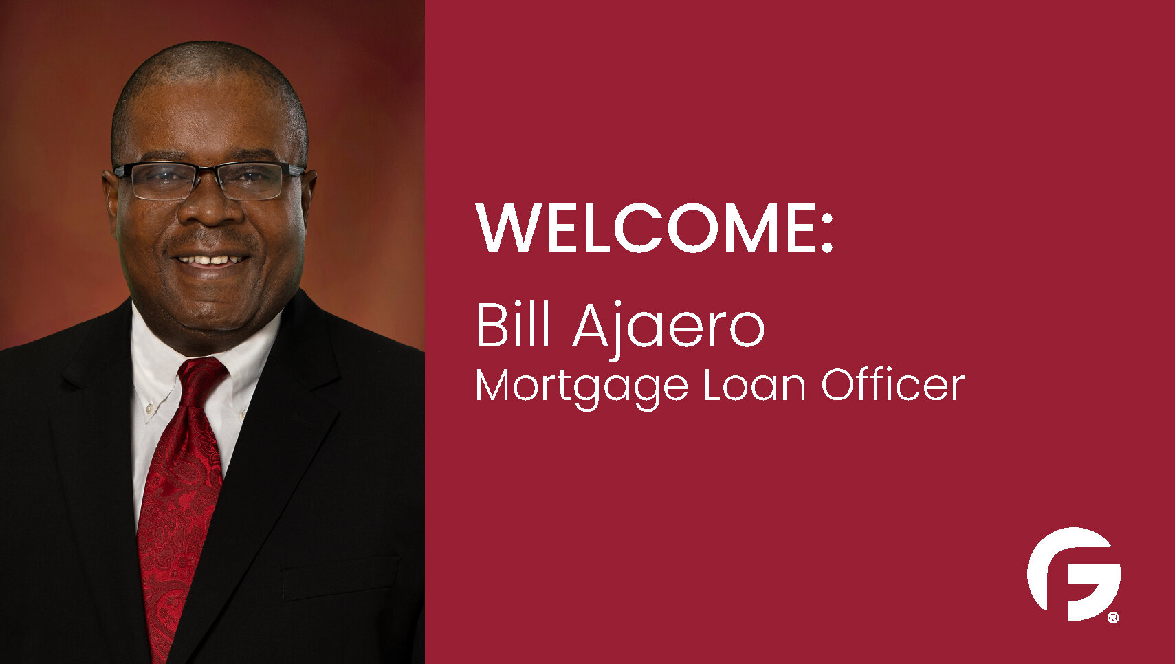 Bill Ajaero, Loan Officer, Washington