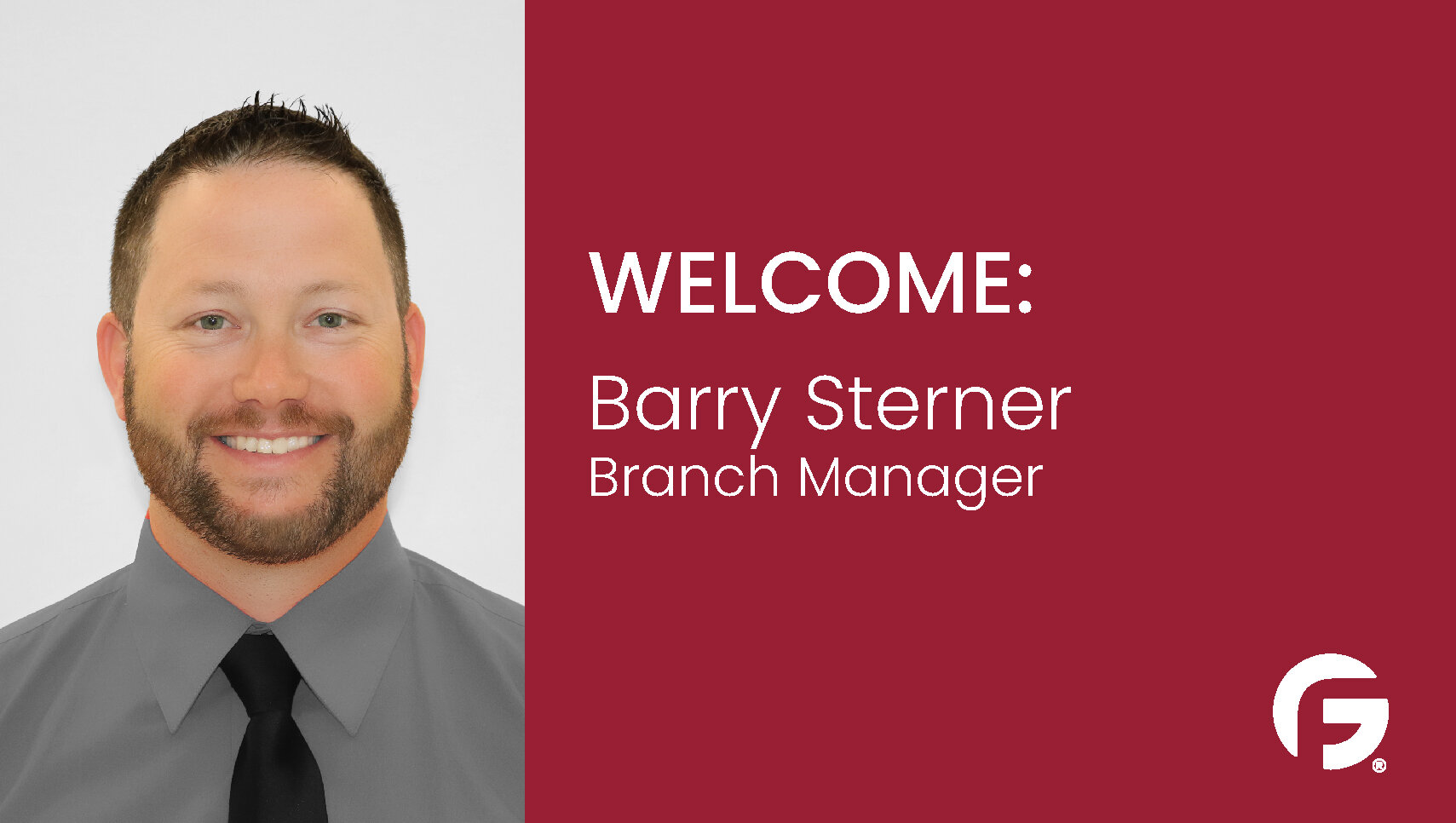 Barry Sterner, Branch Manager, Washington