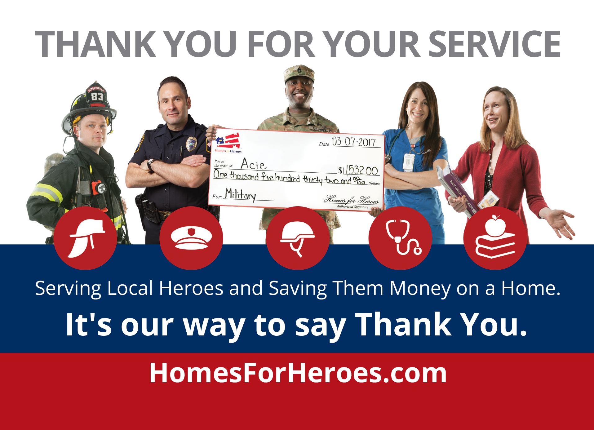 Our Eastmark Branch is a Homes for Heroes approved mortgage lender in Arizona