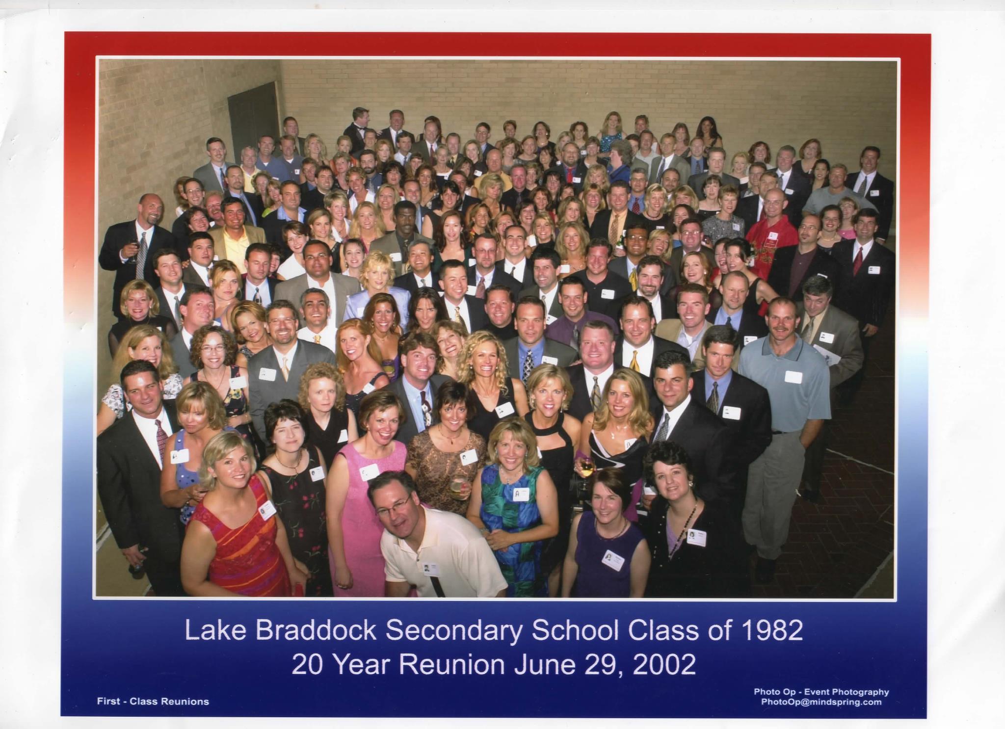 20th Reunion - 2002