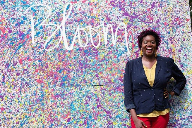 Every day.  We build a world.  Thank God. For women.  - Amena Brown . #Bloom2019 was amazing. You all are amazing. God bless this amazing community of women.  . #Northeastwomen #bloom #bereal #beyou #befree #women #louisville #louisvillewomen