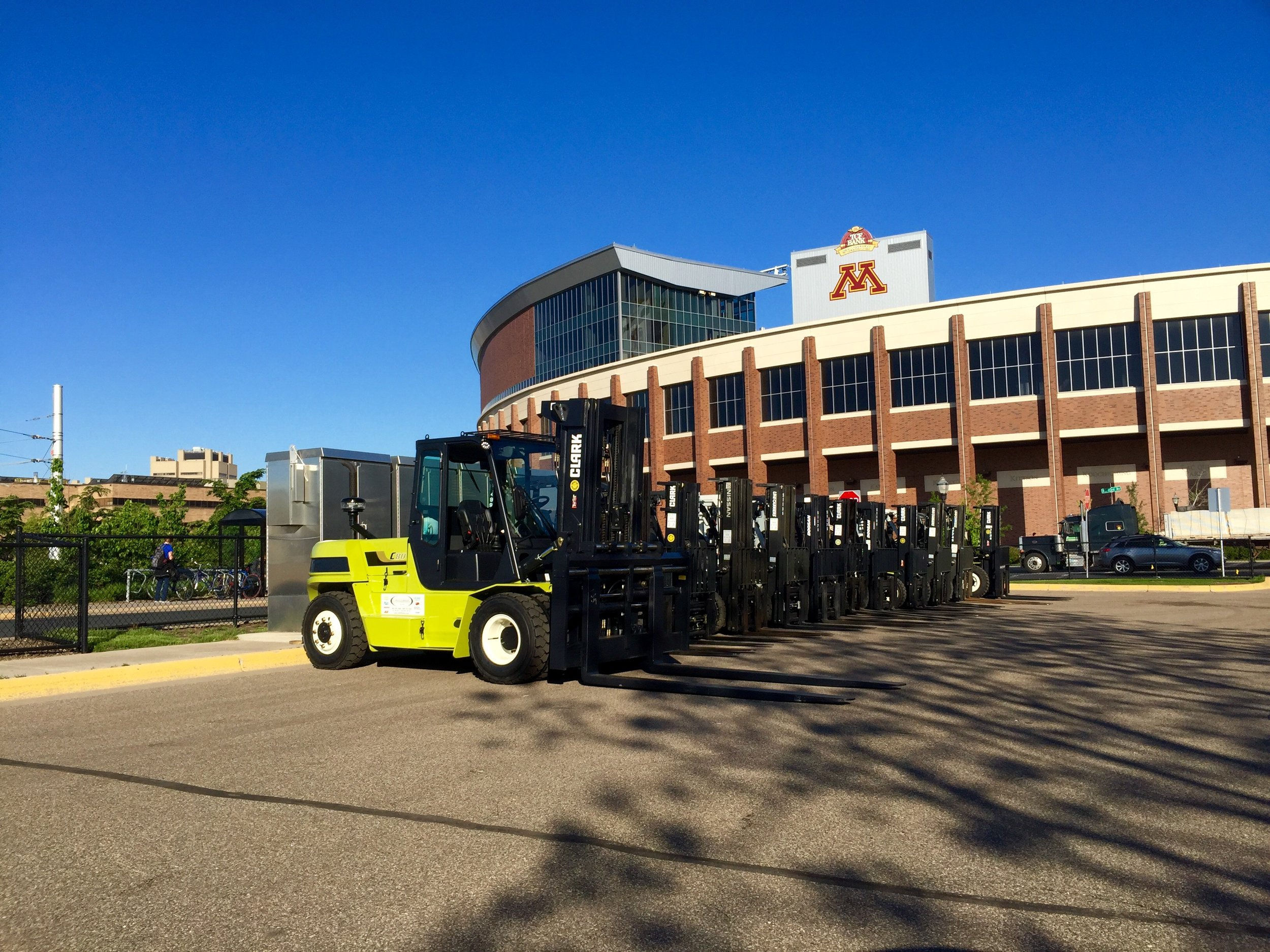 Rent Forklifts in Minnesota
