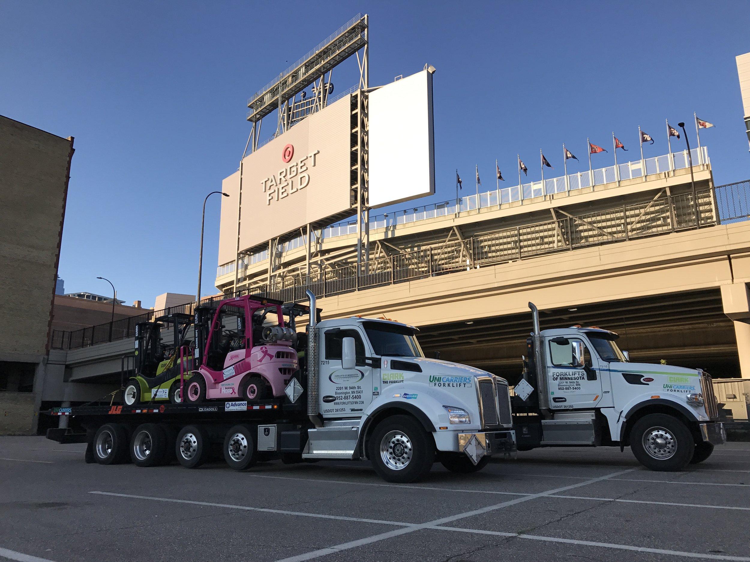 Forklifts of Minnesota Rental Fleet