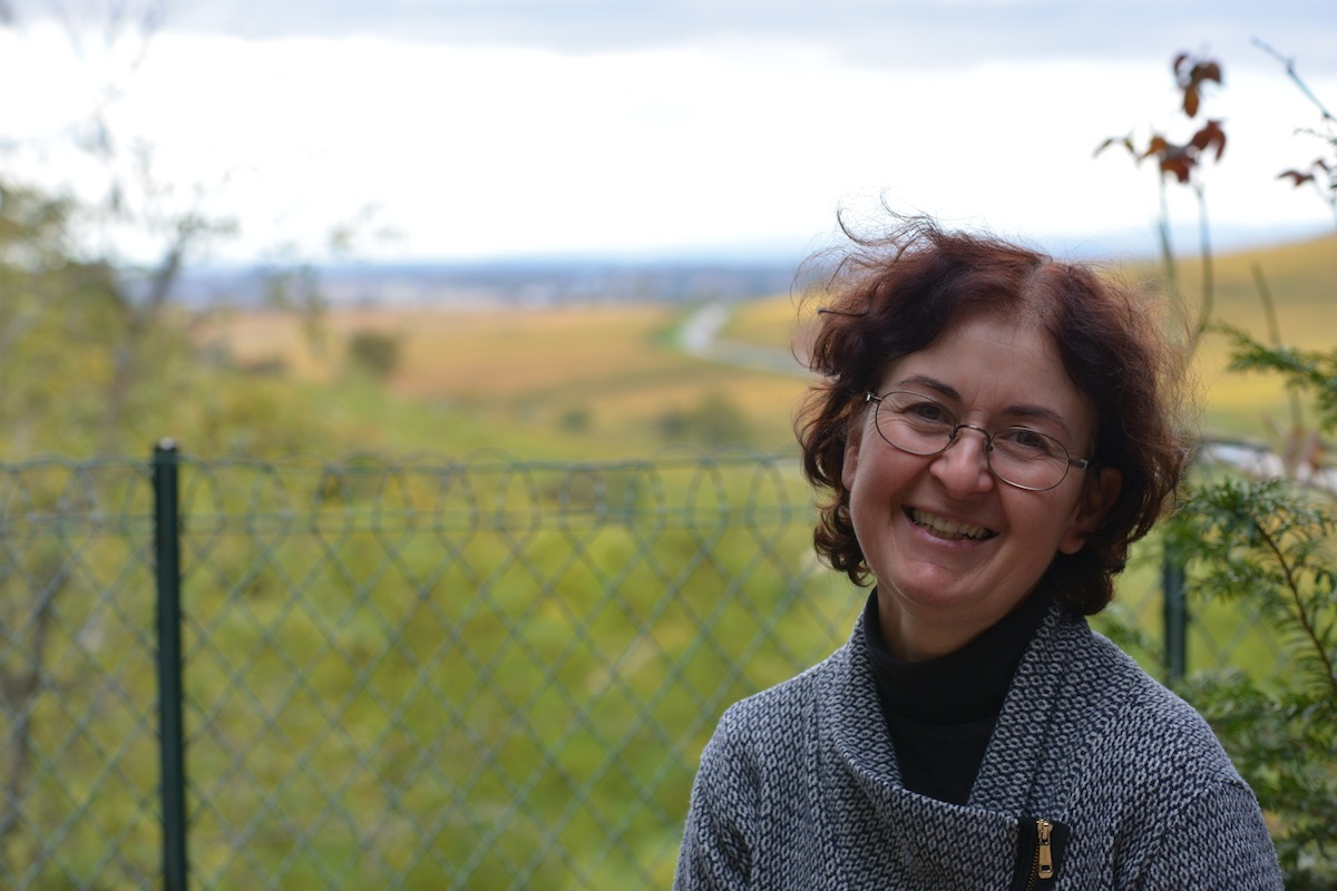 Lise Pavelot at the Domaine