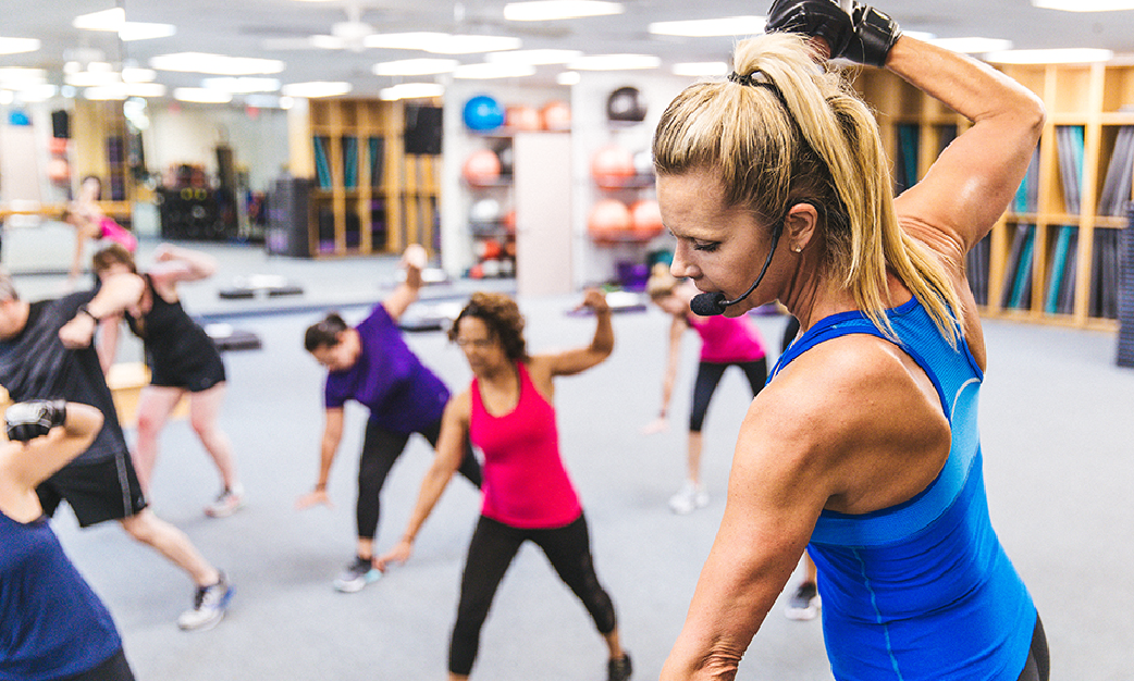 GROUP EXERCISE   Learn More +