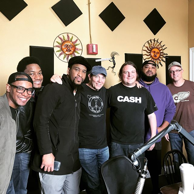 A HUGE thank you to @wwoz_neworleans for having us on the air to share some words, music, and laughs with @soulstu_nolageorgia on 90.7FM today! . . Swipe ⬅️ to hear co-founders Bill Elder and Jojo Hermann of @widespreadpanichq talk about how they met, their influences and ties to the New Orleans/Blues tradition, and the sound of the new record!. . . #slimwednesday #gemcorecords #reptileshow #jojo #jojohermann #widespreadpanic #neworleans #wwoz #wwoz_neworleans