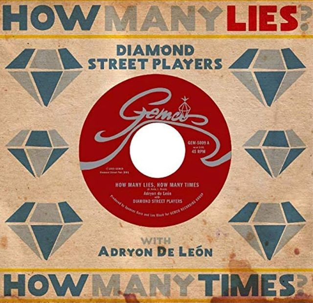 "@diamond_street_players second single on wax out today! ""How Many Lies, How Many Times"" featuring guest vocalist @adryondeleon with b-side ""Organ Workout"" Recorded at @diamondstreetstudios  Order from our website!"