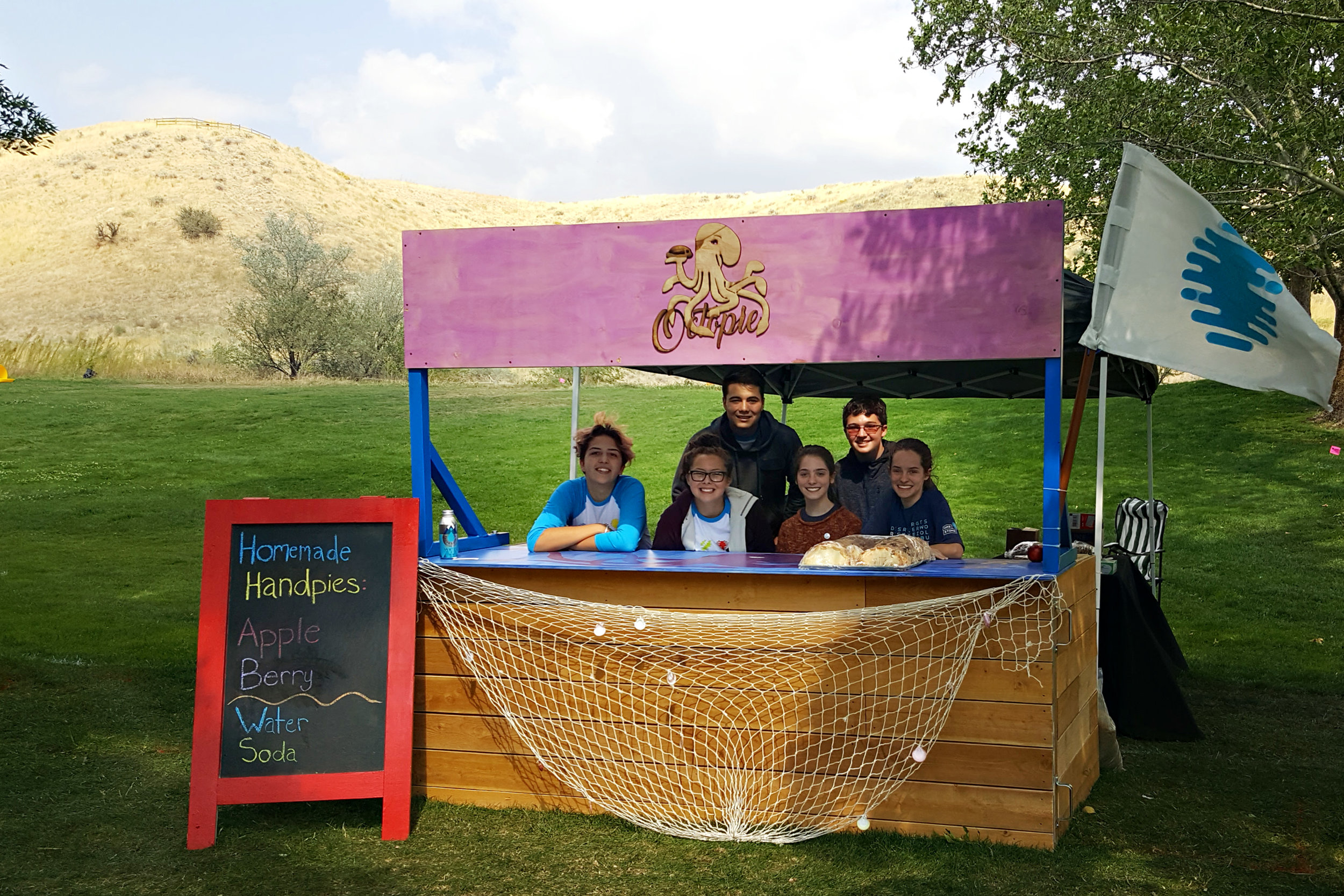 "Look for the student-run ""Octopie"" booth at Boise's annual Hyde Park Street Fair and other events around town."
