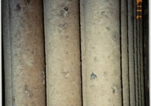 Boiler tubes under chemical treatment