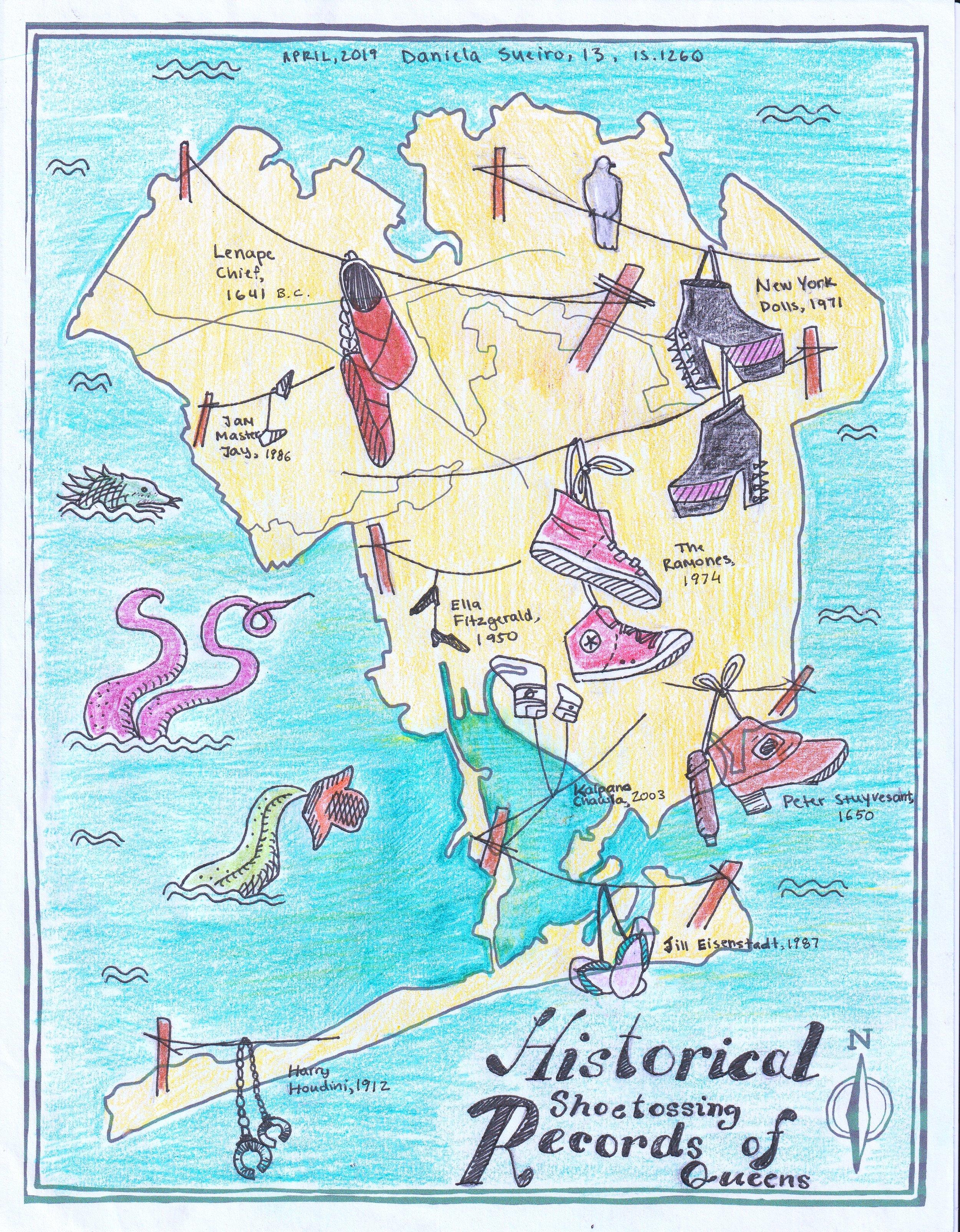 Daniela Sueiro, IS 126Q, Mapping Queens